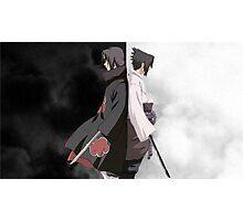 POSTER - Itachi & Sasuke Uchiha Photographic Print