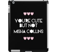 Cute but not Misha Collins - liferuiner 03 iPad Case/Skin