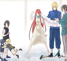 POSTER - Naruto Family by artemys