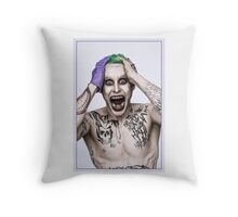 Joker by Jared Leto Throw Pillow