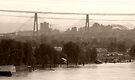 Two Bridges From a Bridge by Leanna Lomanski