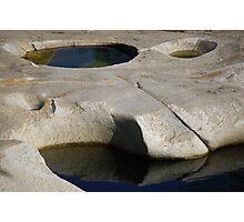 Glacial Potholes Photographic Print