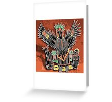 crow shaman Greeting Card