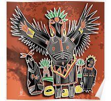 crow shaman Poster
