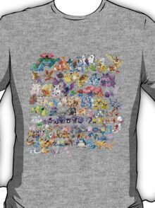 151 Pokemon Art T-Shirt