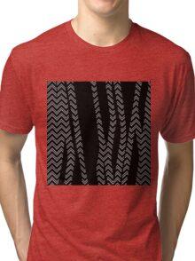 Chevron and Zebra Tri-blend T-Shirt