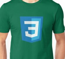 Silicon Valley - CSS3 Logo Unisex T-Shirt