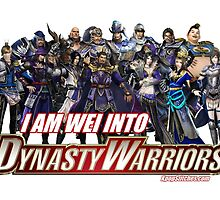 I am WEI into Dynasty Warriors by dubukat