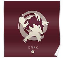 Pokemon Type - Dark Poster