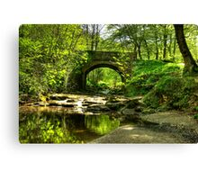 The Bridge at May Beck Canvas Print