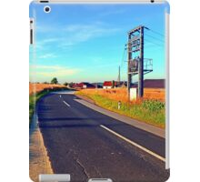 Power to the country | landscape photography iPad Case/Skin