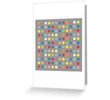 Colorful Circles VII Greeting Card
