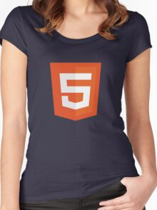 Silicon Valley - HTML5 Logo Women's Fitted Scoop T-Shirt