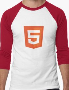 Silicon Valley - HTML5 Logo Men's Baseball ¾ T-Shirt
