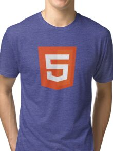 Silicon Valley - HTML5 Logo Tri-blend T-Shirt