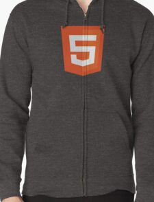 Silicon Valley - HTML5 Logo Zipped Hoodie