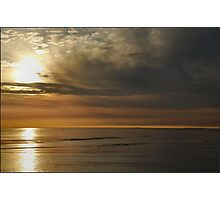 Pastel Coloured Wadden Sea Photographic Print