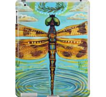 Golden Dragonfly iPad Case/Skin