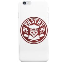 Pastry Chef Skull Logo Red iPhone Case/Skin