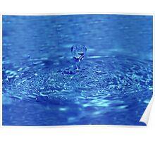 Drop of fresh water Poster