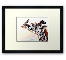 Tall Story Framed Print