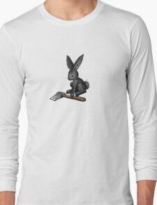 Black Bunny Long Sleeve T-Shirt