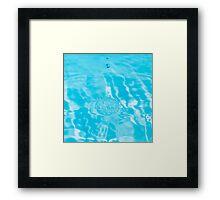 Drop of fresh water Framed Print