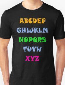 Alphabet Tee T-Shirt