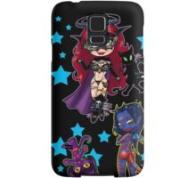 Tarot & Friends Chibi design on Black! Samsung Galaxy Case/Skin