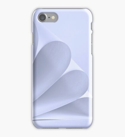 Sheets of paper rolled iPhone Case/Skin