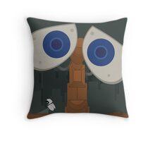 Wall-E Poster Throw Pillow