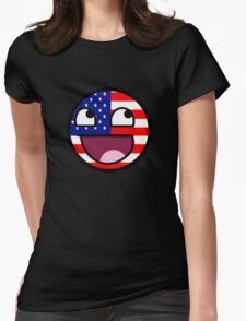 Awesome American Face USA T-Shirt