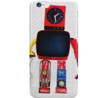 Robot vintage iPhone Case/Skin