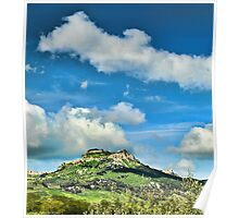 The city of Enna, Sicily Poster