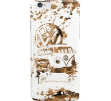 Volkswagen Kombi Splash Sepia © iPhone Case/Skin