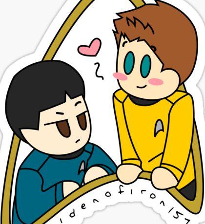 The Best of Starfleet Sticker