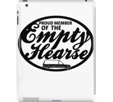 Empty Hearse iPad Case/Skin