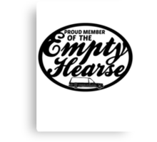 Empty Hearse Canvas Print