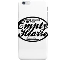Empty Hearse iPhone Case/Skin