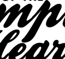 Empty Hearse Sticker