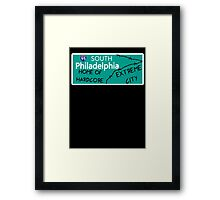 ECW Philadelphia - Hardcore City T shirt Framed Print