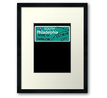 ECW Philadelphia - Hardcore City T shirt Framed Print