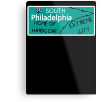 ECW Philadelphia - Hardcore City T shirt Metal Print