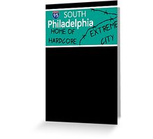 ECW Philadelphia - Hardcore City T shirt Greeting Card
