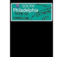 ECW Philadelphia - Hardcore City T shirt Photographic Print