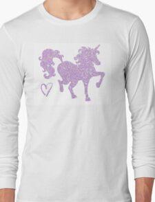 Periwinkle Wander Long Sleeve T-Shirt