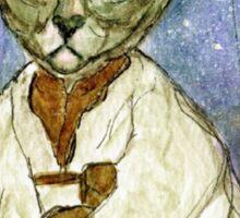 Star Wars Yoda Cat Sticker