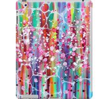 Roses n Bubbles on Rainbows iPad Case/Skin