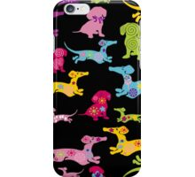 Dachshund at it's BEST! iPhone Case/Skin