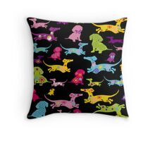 Dachshund at it's BEST! Throw Pillow